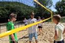 Einweihung Beachvolleyballfeld